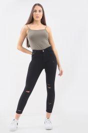 BLACK LADIES  Ladies High waisted jeans