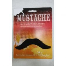 Black Moustache (Pack of 12)