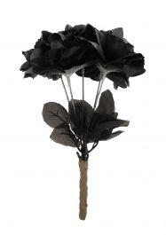 Black Roses (Pack Of 12)