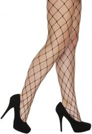 Black Whalenet Tights (Adult)