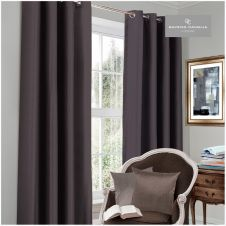 BLACKOUT CURTAIN 66X54 CHARCOAL@
