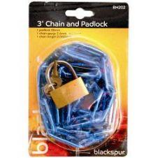 Blackspur Chain & Padlock - 3