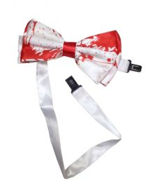 Blood Print Bow Tie