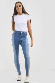 Blue High waisted Jeans