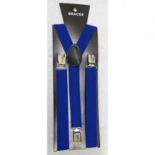 Royal BluePlain Braces 2.5 cm