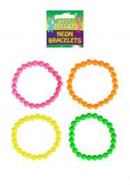 Bracelet Neon 20cm 4 Assorted