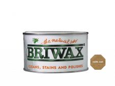 Briwax Natural Wax - 400g Dark Oak