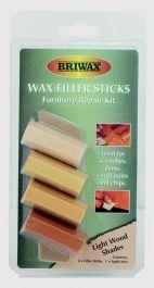 Briwax Wax Filler Sticks - Light