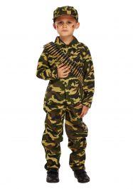 Camouflage Boy Costume