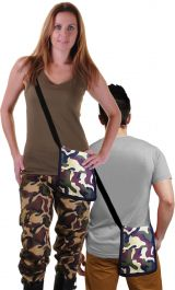 Camouflage Shoulder Bag Pouch