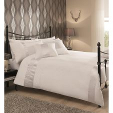 CAPRICE DUVET SET WHITE