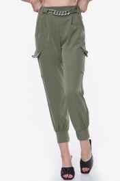 Chain Design Combat Trouser (Olive Green)