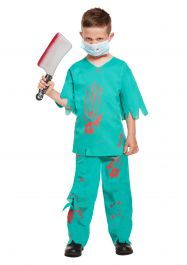 Child Bloody Doctor Costume