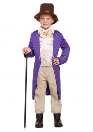 Child Chocolate Factory Costume