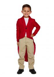 Child Fox Jacket Costume