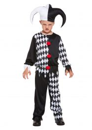 Child Jester Evil Costume
