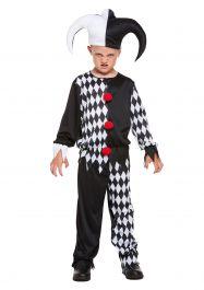 Child Jester Evil Costume