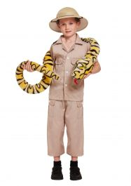 Child Safari Explorer Costume