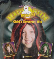 Child Sorceress Wig (3 Assorted Colour)