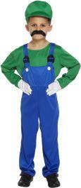 Child Super Workman Green