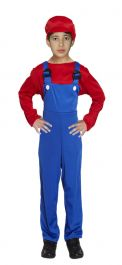 Boys Cheeky Plumber Costume