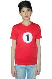Children 1 Red Printed T-Shirt