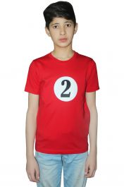 Children 2 Red Printed T-Shirt