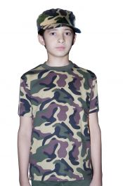 Children Army T-Shirt Camouflage