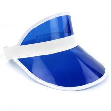 Children Blue Poker Visor Hat (12 Pcs)