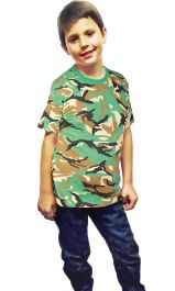 Children Camouflage T-Shirt
