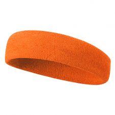 Children Head Band Neon Orange 12 Pcs