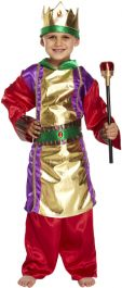 Children King Costume