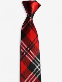 Children Red Tartan Neck Tie