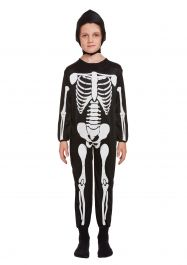 Children Skeleton Costume