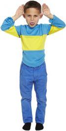 Children Striped Jumper Blue-yellow
