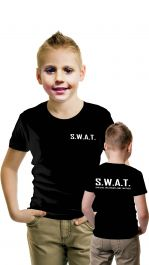 Children SWAT Printed T-Shirt