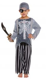 Children Zombie Pirate Costume
