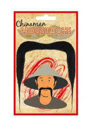 China-man Moustache