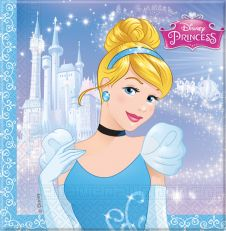 Cinderella Lunch Napkins (Pack of 20)