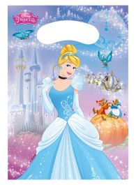 Cinderella Party Bags (Pack of 6)