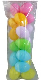 Coloured Eggs (Pack of 18)