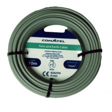 Commtel Twin and Earth Cable 10m 1mm