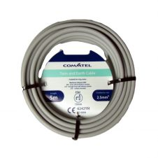 Commtel Twin and Earth Cable 5m 2.5mm