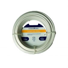 Commtel White Coax Cable 10m