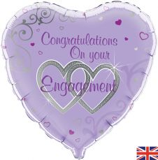 Congratulations On Your Engagement Balloon (18 Inches)