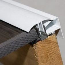 Corotherm White Glazing Bar - 3m