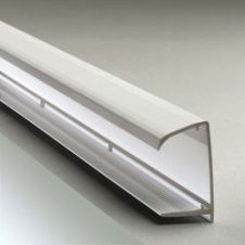 Corotherm White Sheet End Closures x 2 - 2100 x 10mm