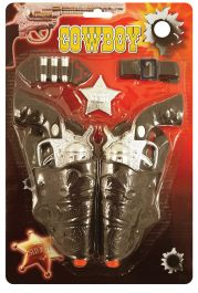 Cowboy Set 7 Pc W/2 18cm Guns