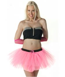 Crazy Chick 3 Layers Baby Pink TuTu Skirt