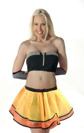 Crazy Chick Butterfly TuTu Skirt With Bow & Trim TuTu Skirt